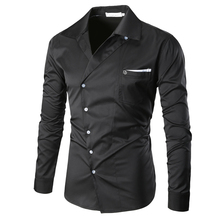 Popular Designer Button Down Shirts Men-Buy Cheap Designer Button ...