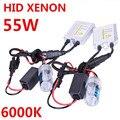 H7 Bombilla de Xenón hid Xenon kit AC 12 v 55 w balastos solo haz lámpara linterna Auto del coche 6000 k Blanco Estupendo