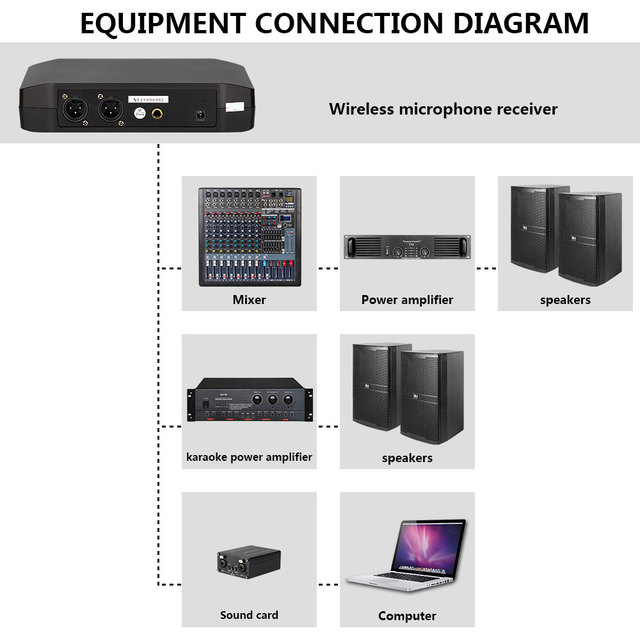 Dual Wireless Microphone Set