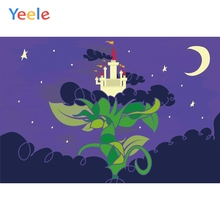 Yeele Wallpaper Night Tree Castle Children Room Decor Photography Backdrop Personalized Photographic Background For Photo Studio