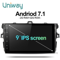 Navitop 2G 16G Android 6 0 Car Dvd For Toyota Corolla Toyota Auris 2007 2008 2009