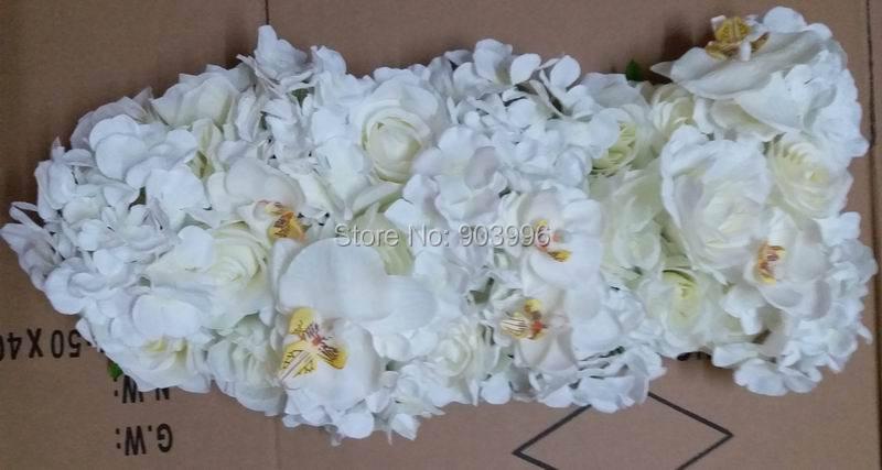 SPR Nieuw !! bruiloft weg lead bloemen kandelaar tafel middelpunt - Feestversiering en feestartikelen - Foto 3