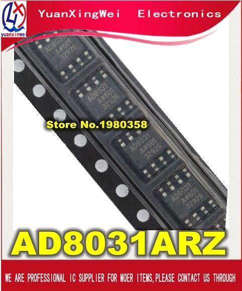 Free Shipping 10PCS/LOT AD8031ARZ SOP-8 AD8031 AD8031AR 8031A Ad8031A