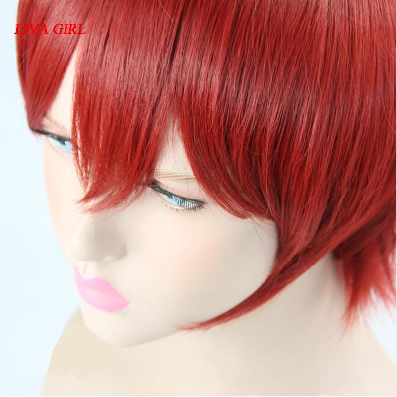 LIVA GIRL Akabane Karuma Cosplay Wig Assassination Classroom Costume Play Wigs Halloween Costumes Hair