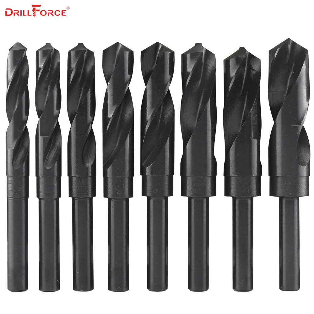 1PC 12mm-40mm 1/2 inch Dia Reduced Shank HSS Twist Drill Bit (12/13/14/15/16/17/18/19/20/21/22/23/24/25/26/28/30/32/35/38/40mm) худи print bar линии краски