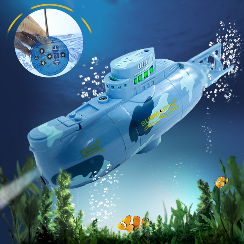 Remote control RC Submarine Toys 6 Channels RC Mini Submarines Model for Kids Summer Fun toys