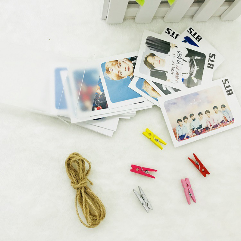Beads & Jewelry Making Youpop Kpop Got7 Present Edition 7 For 7 Album Photo Version For Student Card Bus Pvc Crystal Card Stickers My020 Handsome Appearance Jewelry & Accessories