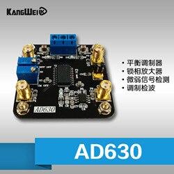 Balanced modulator AD630 chip PLL amplifier module for weak signal detection modulation detection