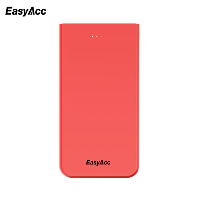 Easyacc Power Bank 10000 mAh Ultra Slim Power Bank External Battery Charger PowerBank For iPhone 7 6 5 4 for Xiaomi Mi