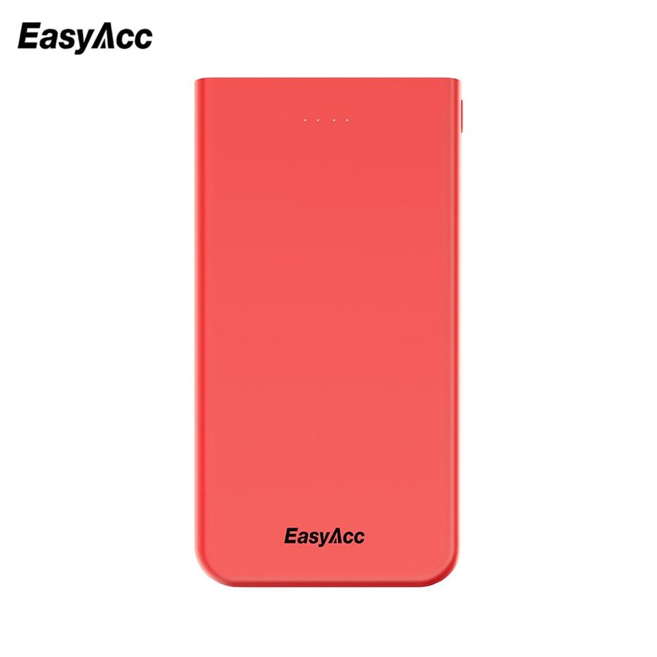 Easyacc Power Bank 10000 mAh Ultra font b Slim b font Power Bank External Battery Charger