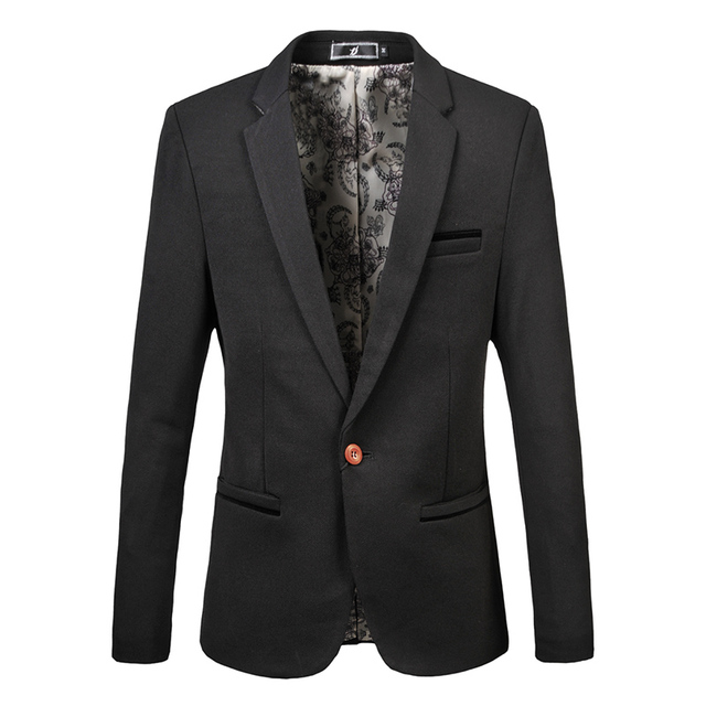 Men S High Quality Large Size Suit Jackets Business Casual Wedding Party Dresses Formal Wear M
