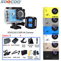 Original SOOCOO C30R 4K WiFi Action Video Camera Remote Waterproof 30m Mini Sport DV+Extra Battery+Selfie Stick+Many Accessories