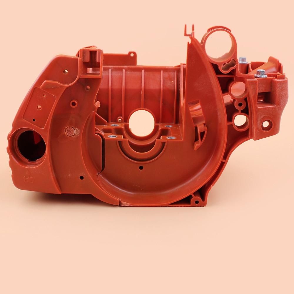 Crank Case Crankcase Engine Housing Kit For HUSQVARNA 445 450 E 445E 450E 537438201 Chainsaw Gasoline Motor Parts crankcase crank case engine motor housing gasket for husqvarna 61 268 272 272xp chainsaw parts