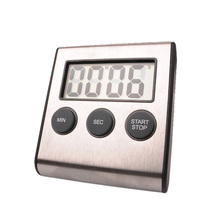 Freies verschiffen, digitaler timer, edelstahl küche timer, countdown-timer