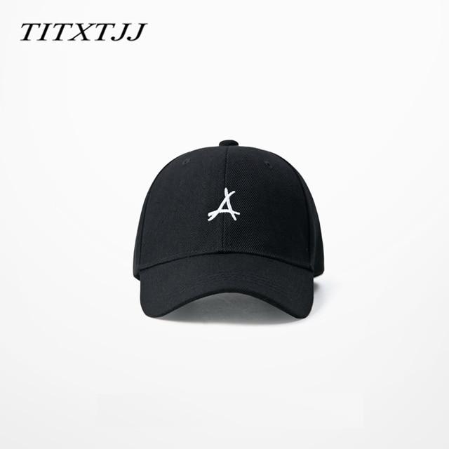 Korean Harajuku ulzzang KID INK Baseball cap Fashion Skateboard Hat Curved Brimmed 6 Panels headwear Carton Packing
