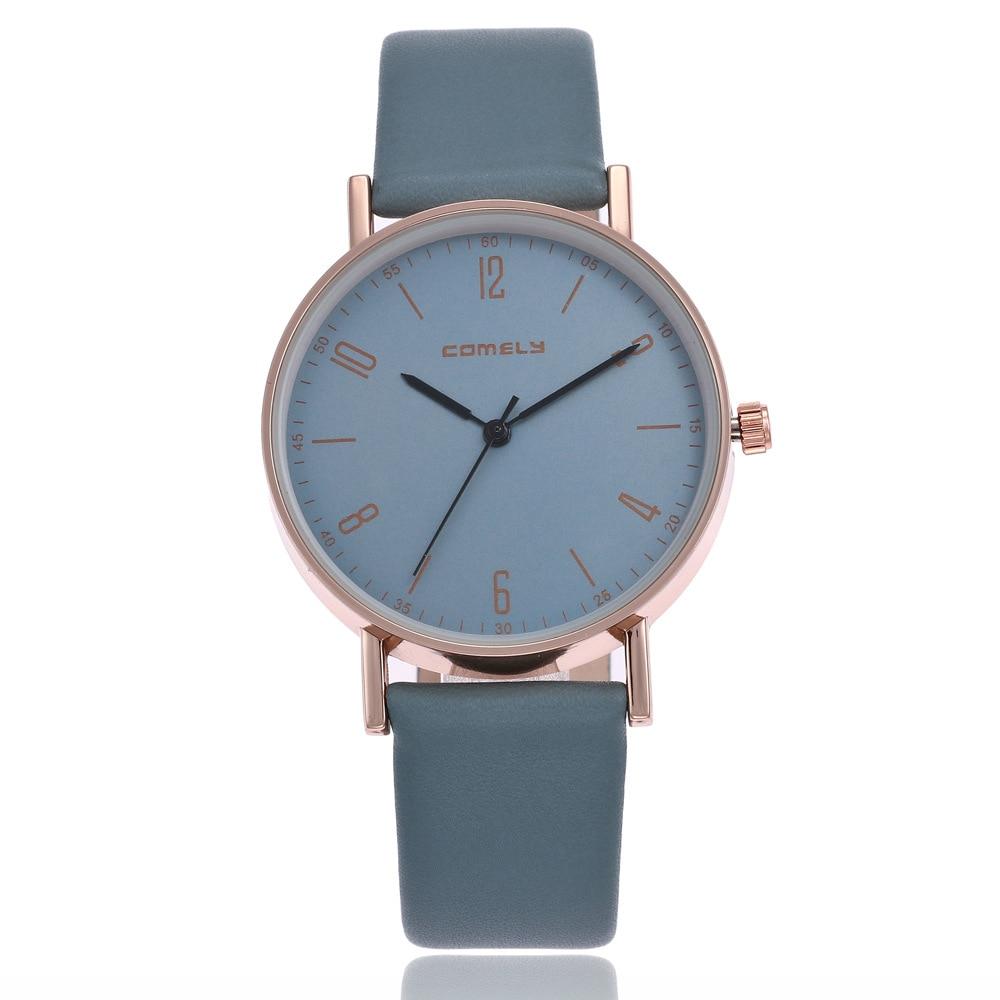 Women's Leather Band Roman Quartz Wrist Watch Watches Women Watches Reloj Mujer сумка tommy hilfiger am0am00806 002 black