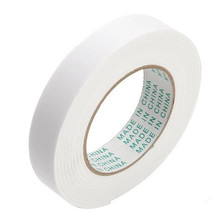 5 PCS  5m x 12mm High Quality White Strong Double Sided Sticky Tape  FORCE Foam Double Faced Adhesive Craft Padded Mounting