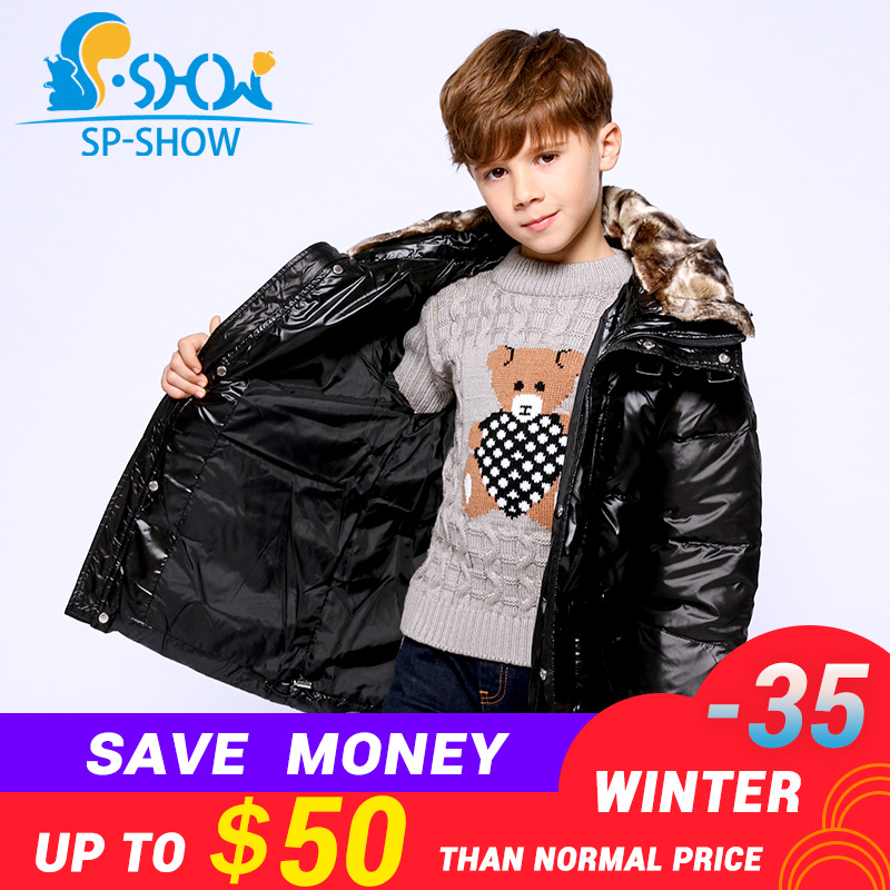 2018 Winter Children Clothing Brand Boys Down Coat Outwear Hoodwed Thick Warm Down Coat & Parkas 5801 2018 winter children clothing brand boys down coat outwear hoodwed thick warm down coat