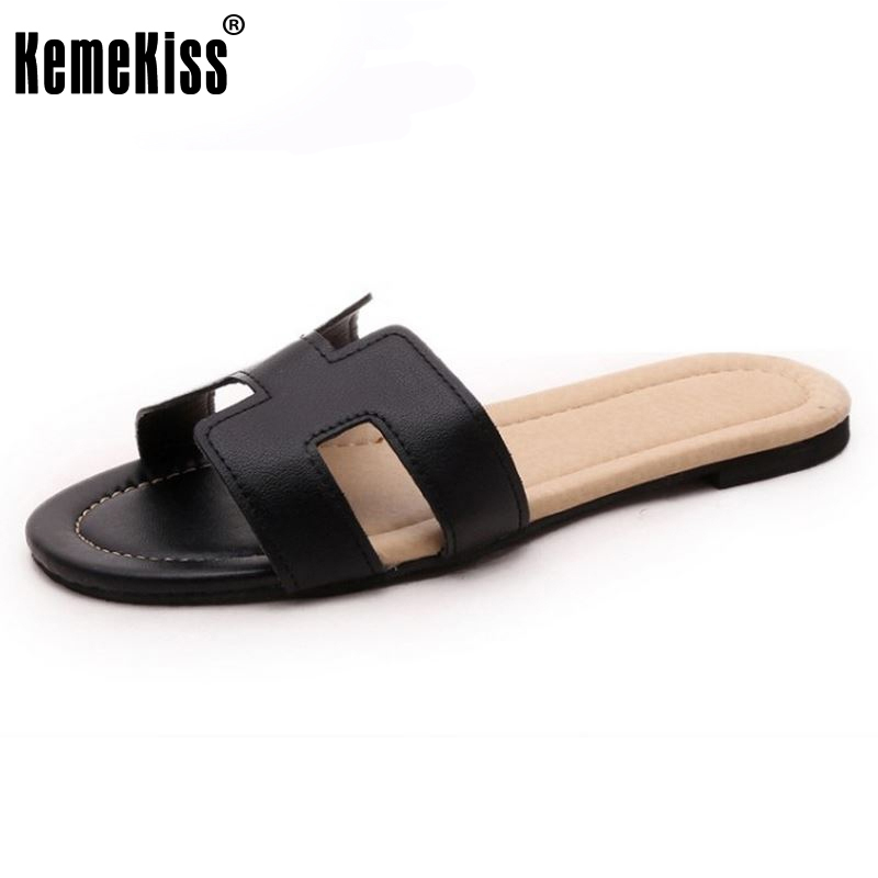 women flats sandals ladies slippers shoes for woman bohemia flip flops female beach footwear Zapatos Mujer size 35-40 WC0177 2016 genuine leather sandal shoes brand designer beach flip flops slippers male flat sandals for men 38 44 size