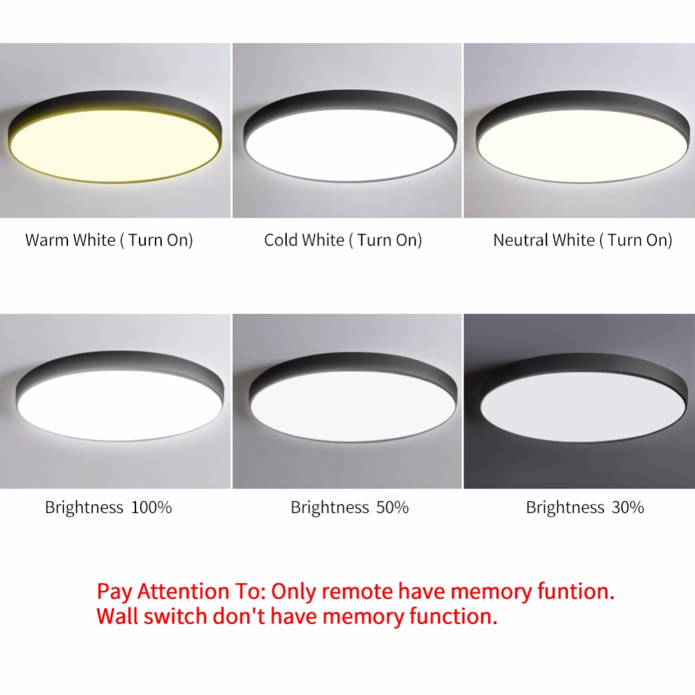 Lovely Modern Led Ceiling Lights Rgb Led Lamp Panel Round Led Ceiling Light App Remote Control Bluetooth Music Light Bedroom Light Outstanding Features Ceiling Lights