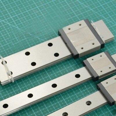 Guide linéaire SUS 440C, longueur MGN15 1500mm, Rail linéaire Miniature de qualité,