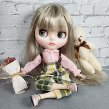 Blyth Doll With Clothes New Style Movable Joint Body Doll Fashion High Quality Girls Plastic Classic Toys Best Gift Bjd Doll Diy genuine east charm 1 6 like bjd blyth dolls shou princess with makeup multi purpose joint high quality collection gift toys