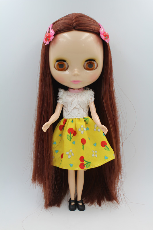 Free Shipping big discount RBL-266DIY Nude Blyth doll birthday gift for girl 4colour big eyes dolls with beautiful Hair cute toyFree Shipping big discount RBL-266DIY Nude Blyth doll birthday gift for girl 4colour big eyes dolls with beautiful Hair cute toy