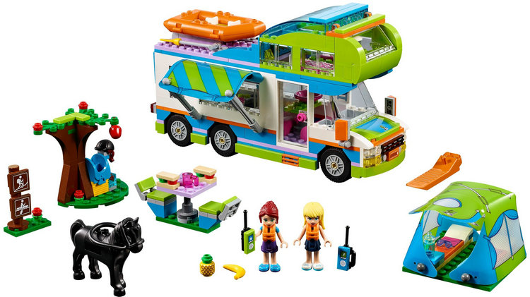 New 01062 Good Friends Girl Series The Motorhome Building Blocks Bricks Toys As Children Compatible with lego city Friends 41339 compatible with lego girl friends kids lele 37008 516pcs blocks anna and the princes castle building blocks toys for children
