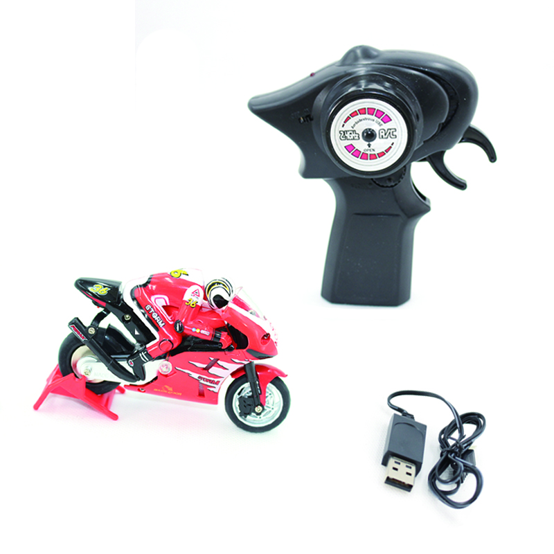 Image 3 - Kids Motorcycle Electric Remote Control Car mini motorcycle 2.4Ghz Racing Motorbike Boy 8 15 toys for children-in RC Motorcycles from Toys & Hobbies