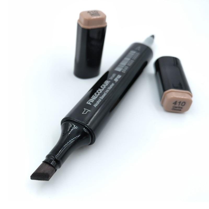 Finecolour 480 Colors Dual Brush Markers EF102 Set Alcohol