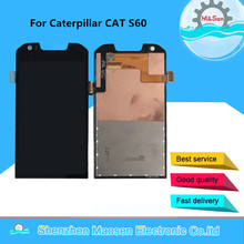 "Caterpillar CAT S60 터치 패널 디지타이저 스크린 용 Caterpillar CAT S60 LCD 스크린 디스플레이 용 4.7 ""Original M & Sen"