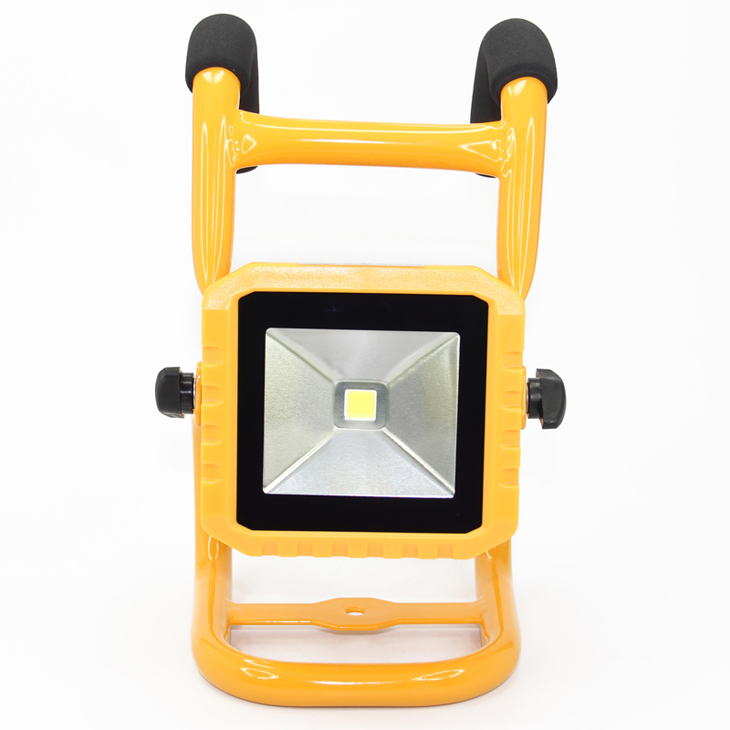 10W LED Floodlight Outdoor LED Flood light lamp AC95-265V IP65/IP67 waterproof 7.4V/4400mAh LED Tunnel light lamp street lamps 65 95 55mm waterproof case