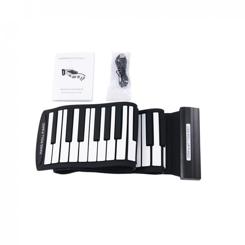KONIX Fold Electronic organ Superior Roll Up Piano with Soft Keys MD88S 88Keys Professional MIDI Keyboard in Electronic Organ from Sports Entertainment