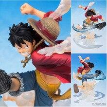 Wholesale Anime One Piece Figuarts.ZERO 5th PVC Monkey D Luffy Battle Model 15 cm Adult Action Figures High Quality Garage Kids