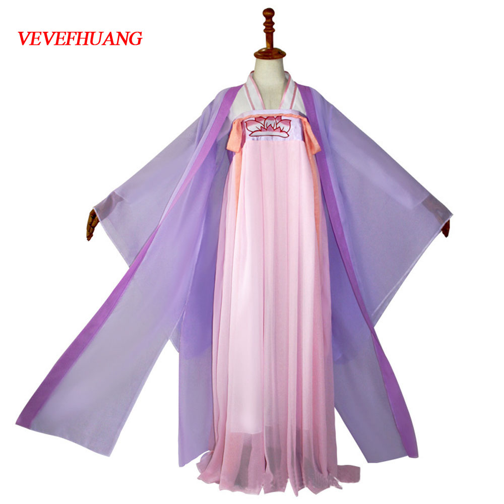 VEVEFHUANG New Jiang Yan Li Mo Dao Zu Shi Anime Cosplay Costume Anime Grandmaster Of Demonic Cultivation Women Cosplay Costume