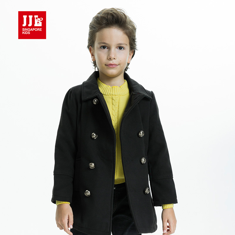 boys winter coat kids jacket children's winter jackets boys parka kids snowsuits boys clothes boys wool coat