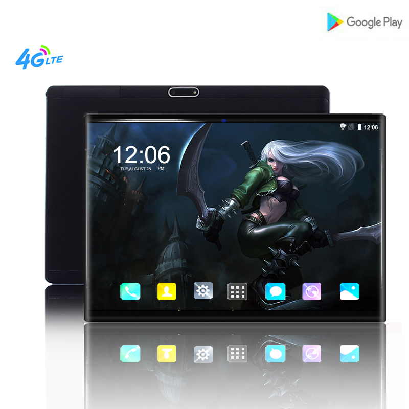 BMXC Original 10 zoll <font><b>Tablet</b></font> PC 10 core <font><b>Android</b></font> 8.0 <font><b>6</b></font> + 64GB 1920*1200 IPS Dual karte 8MP kamera WIFI bluetooth Tabletten 10,1 + Geschenk image