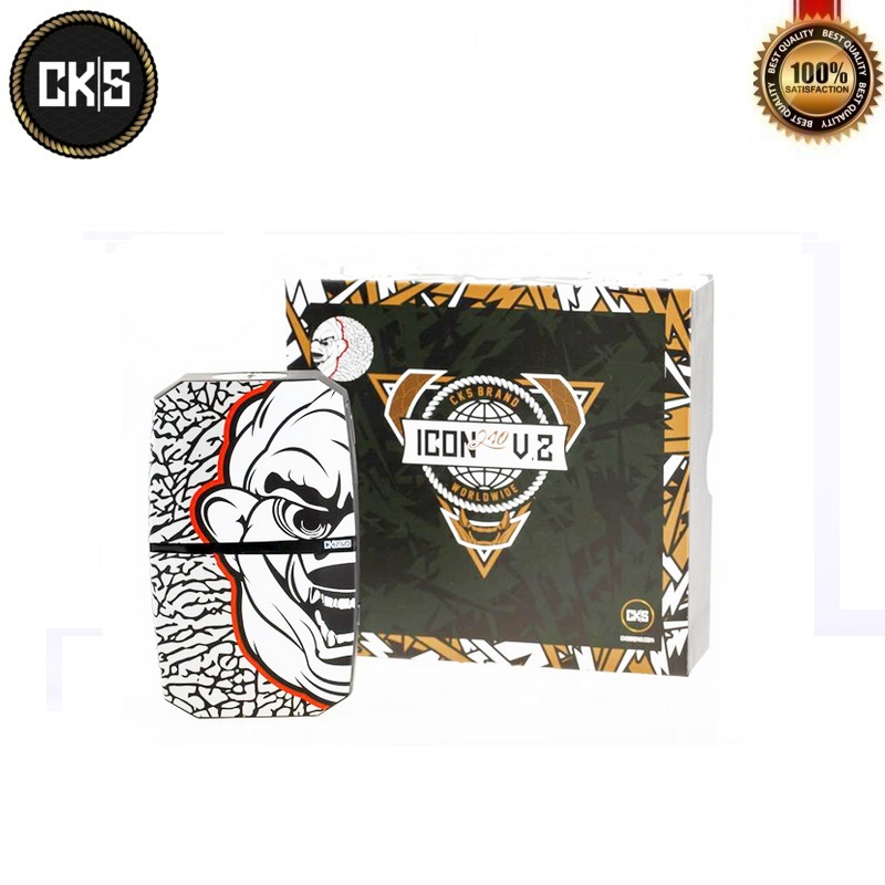 Original CKS Icon V2 240W Box Mod Powered By Dual 18650 Battery withVO CHIPSET Temp Control