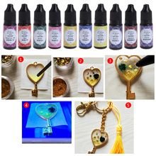 10g UV Resin Epoxy DIY Jewelry Making Transparent Hard Curing Activated Crafts