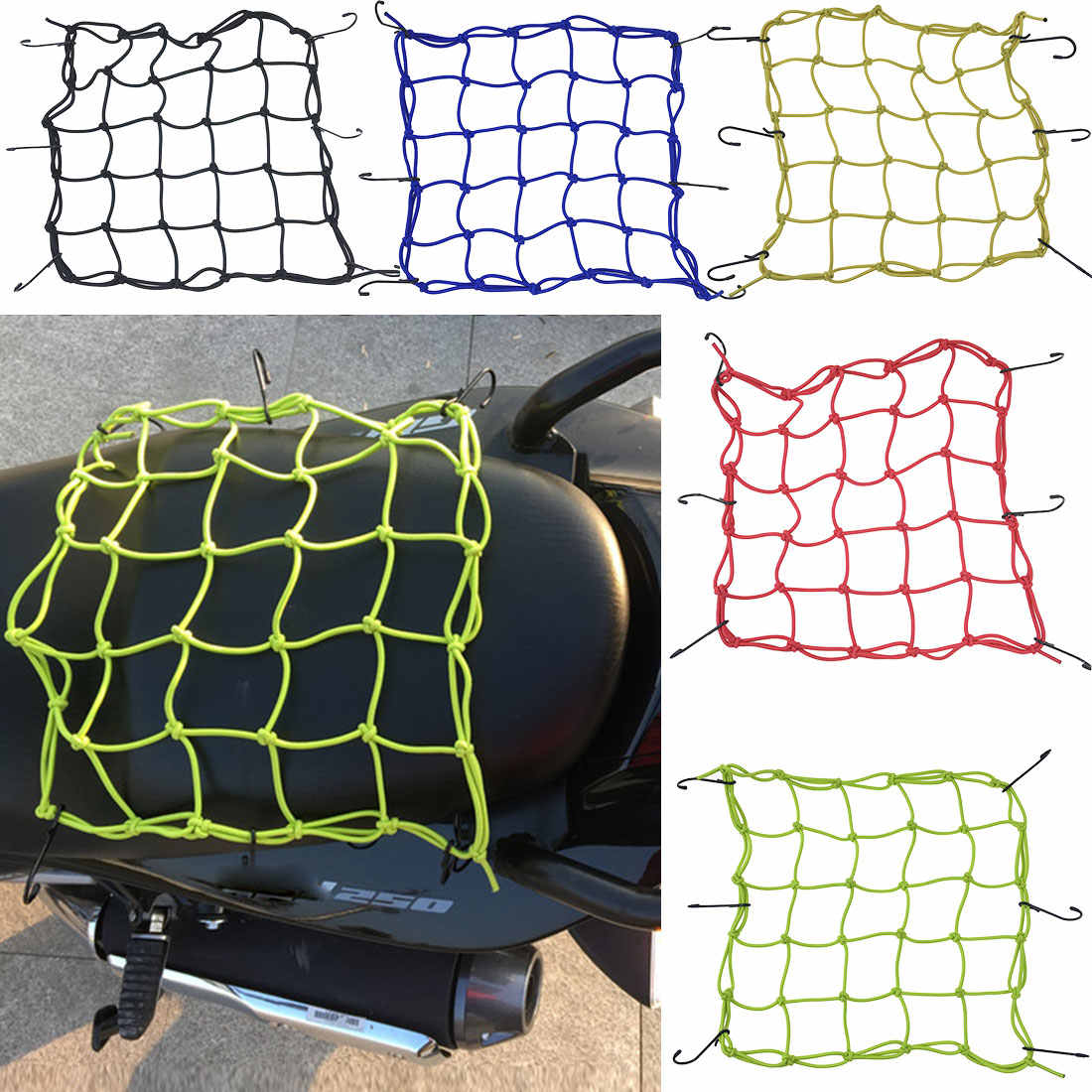 Accessories Bicycle Cargo Net 30*30cm Carrier Racks Bike Luggage Package Hot
