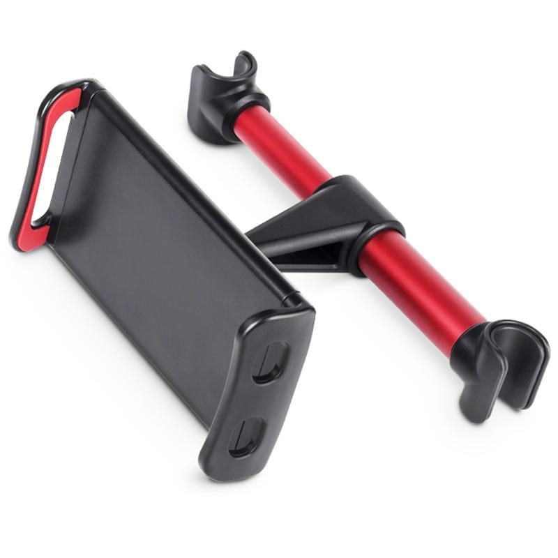 Автомобильный держатель для телефона на заднее сиденье, вращающаяся на 360 градусов подставка, Автомобильный кронштейн на подголовник, подд...