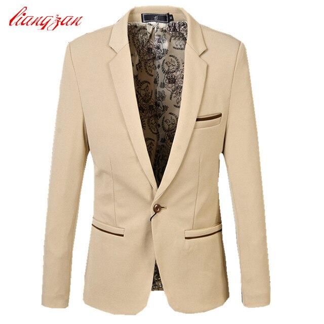 Men Casual Blazer Suit Brand Casual Business Suit Blazer Male Plus Size 5XL 6XL Cotton Wedding Masculino Costume Homme F2316