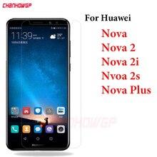 Verre trempé pour Huawei Nova 2 2i 2S Plus bidon L01 L11 bidon L02 L12 L03 L13 HWI AL10 TL00 protecteur décran verre de protection