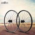 26 zoll 32 loch V bremse/scheibenbremsen dual radlager hubs MTB Mountain Bikes Fahrräder Rad Laufradsatz Naben teile