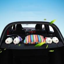 Auto stamm Platte abdeckung für honda hrv hr-v 2015 2016 2017 2018 honda vezel auto cargo vorhang abdeckung(China)