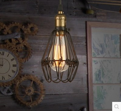 IWHD Loft Style Edison Pendant Lights Fixtures Industrial Lighting Fixtures American Vintage Lamp Lamparas Colgantes Luminaire