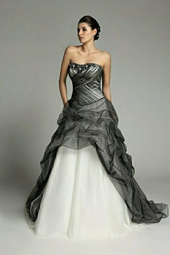 Black and Gold Wedding Dresses _Wedding Dresses_dressesss