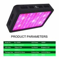 Grow lights Full Spectrum LED Grow Light 1000W Growing Lamp Indoor Hydroponic Greenhouse LED Plant All Stage Growth Lighting