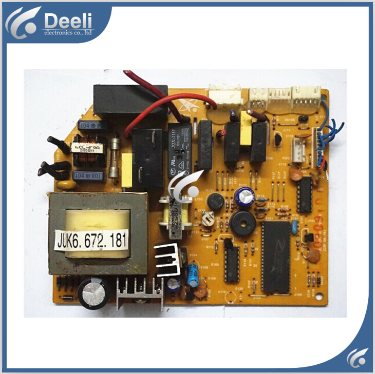 95% new good working for air conditioning motherboard Computer board JUK6.672.181 JUK7.820.146 good working цена и фото