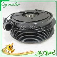 AC A/C Ar Condicionado conjunto de Embreagem Magnética Compressor de Refrigeração Conjunto para Hyundai SANTA FE Santafe II 2.7 CM 977012B251 977012B201